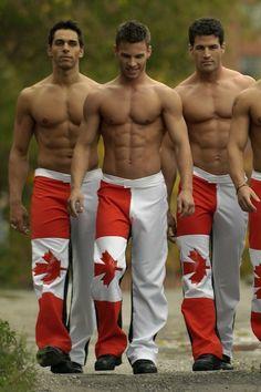 Hot nude canadian men