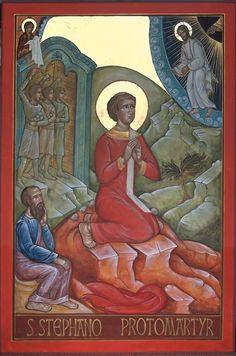 foto van Geert Hüsstege. Saint Stephen, Saints, Painting, Facebook, Painting Art, Paintings, Painted Canvas, Drawings