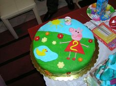 Birthday cake peppa the pig