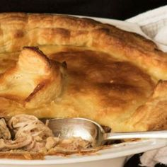 Old Fashioned Chicken Pie recipe | All4Women Food Best Chicken Recipes, Pie Recipes, Quiche Pastry, Homemade Sour Cream, Butter Pastry, Delicious Desserts, Yummy Food, Good Pie, How To Cook Ham