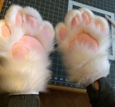 Hand Paws by WoffWoofs Youtuber Merch, Fursuit Paws, Fursuit Tutorial, Neko, Dinosaur Mask, Halloween Karneval, Wolf Costume, Galaxy Cat, Kitten Mittens