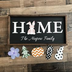 home sign Interchangeable Sign- Free Shippin - home Crafts To Sell, Home Crafts, Diy And Crafts, Cabin Crafts, Holiday Crafts, Holiday Decor, Wood Projects, Craft Projects, Craft Ideas