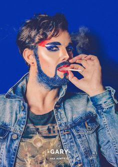 Esses homens com glitter na barba vão desafiar suas ideias sobre gênero