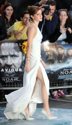 Attends the UK Premiere of 'Noah' at Odeon Leicester Square on March 31, 2014 in London