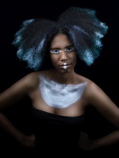 grafismo tribale hair\mua  Serena P.