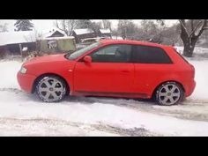 Audi S3 8L Test quattro test haldex haldex on snow тест муфты haldex