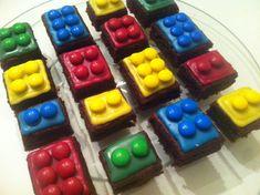 Les brownies au Nutella de Ricardo déguisés en Lego