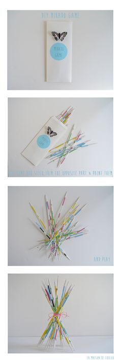 DIY mikado game #kids