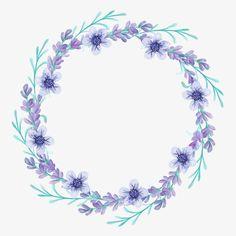 wreath, Lavender, Flower PNG Image