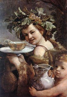The Boy Bacchus by Guido Reni