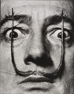Salvador Dali - The surrealist defied conventions in art whilst his moustache defied gravity Magnum Photos, Salvador Dali Photography, L'art Salvador Dali, Salvador Dali Quotes, Philippe Halsman, Frida Art, Art Brut, Photographer Portfolio, Art Moderne