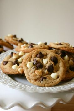 My Favorite Chocolate Chip Cookies {with Sno-caps!}.