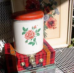 canisters I Miss You Mom I Remember These