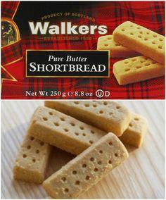 Easy Copycat Walkers Shortbread Recipe