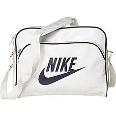 Nike Umhängetaschen Heritage SI Track Umhängetaschen weiß