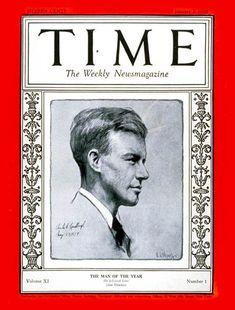 Charles A. Lindbergh - TIME - January 2, 1928