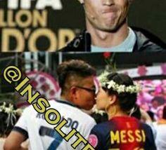 Messi et Ronaldo : Un couple épatant!