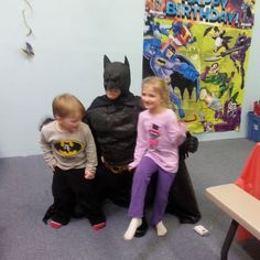 #hippohopp - more photo ops with Batman!