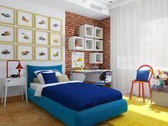 Industrial style nursery/kids room by Студия Антона Базалийского