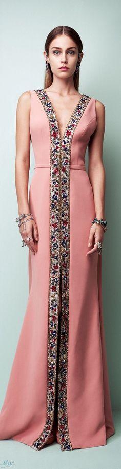 @roressclothes clothing ideas #women fashion coral maxi dress