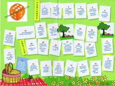 Giochiamo con i pronomi: Picnic di primavera Scarica il PDF selezionando la foto, poi stampalo e preparati a giocare. Ti servirá un dado. ...