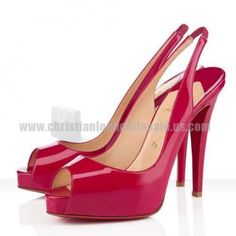 Pivoine Slingbacks No. Prive 120mm Christian Louboutin Surprises You With Its High Quality!