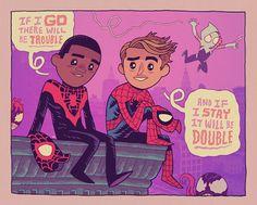 The two Spider-men DAN HIPP