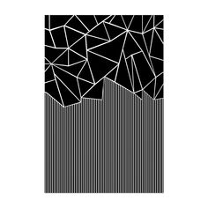 Shop for Noir Gallery Abstract Geometric Pattern Lines Unframed Art Print/Poster. Get free delivery On EVERYTHING* Overstock - Your Online Art Gallery Store! Geometric Patterns, Geometric Lines, Line Patterns, Geometric Designs, Abstract Pattern, Pattern Art, Line Design Pattern, Modern Patterns, Doodle Patterns
