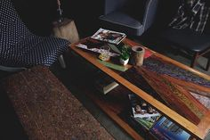 Let's rest  .   In Frame : Kante Coffee Table