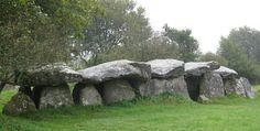 Mougau-Bihan alley grave near Commana in Brittany
