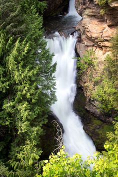 The beauty of Myrtyle Falls near Bonners Ferry, ID. Family Adventure, Adventure Travel, Bonners Ferry Idaho, Weekend Trips, Hot Springs, Where To Go, Waterfalls, Rivers, Places To See