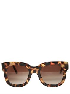 THIERRY LASRY - DOMINATY SQUARED ACETATE SUNGLASSES - LUISAVIAROMA - LUXURY SHOPPING WORLDWIDE SHIPPING - FLORENCE