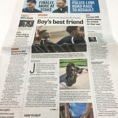 We love seeing our dogs featured on the front pages of newspapers across the country! #diabeticalertdogsofamerica #diabetes #diabetic #diabeticalertdog #diabeticalertdogs #t1d #cgm #onnipod #insulin #insulinpen #insulinpump #insulindependent #dexcom #diabuddy #diabadass #jdrf #jdrfwalk #diabeticteen #diabeticchild #t1dtoddler #curediabetes by diabeticalertdog