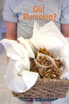 Pumpkin Chocolate Oat Muffins on FamilyFreshCookin...