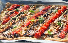 Italiaanse plaattaart met gegrilde groenten - Keuken♥Liefde