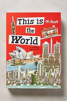 This is the World by Miroslav Sasek Anthropologie