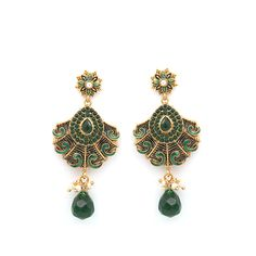 Earrings. F-332  #StylishEarring #BridalEarrings #CraftShopsIndia