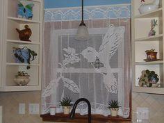 Crochet Curtain Pattern, Crochet Patterns Filet, Crochet Bookmark Pattern, Crochet Curtains, Crochet Motifs, Crochet Bookmarks, Curtain Patterns, Crochet Geek, Thread Crochet