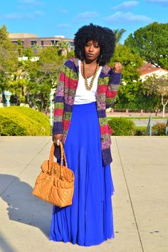 Blogger Style Pantry seen in a F21 long cardigan We're totally digging the colors! What do you think?