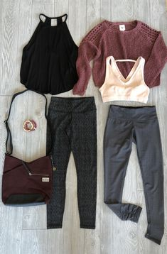 Mix activewear + every day wear together for a comfy 7861c9a90