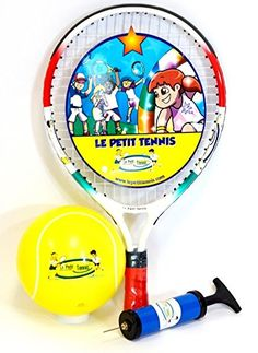 Le Petit Tennis Baby Racquet 15  Inflatable Ball (For Ages 1-2) NEW