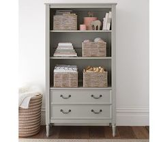 Blythe Bookcase..comes in white too but this color could be pretty as well