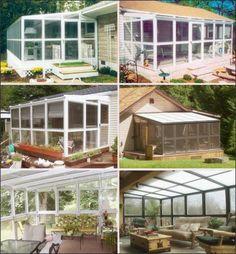 Do It Yourself Sunrooms | These do-it-yourself kits are lightweight and easy to build. Photo ...