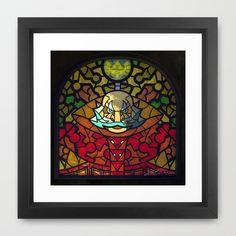 Sage of Light Framed Art Print by Joshua A. Biron - $35.00