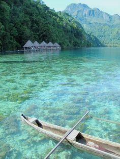 A place to hide away, North Seram Island, Maluku, Indonesia.