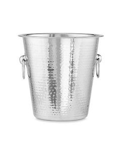 Hammered Stainless-Steel Wine Bucket #williamssonoma