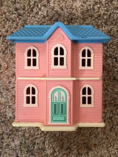 Vintage Little Tikes Family Play Dollhouse Doll House Miniature Toy  Furniture #LittleTikes Kleine Köter,