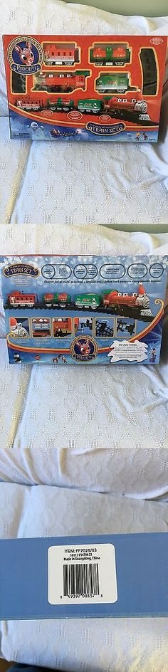 Starter Sets and Packs 81042: Rudolph 50Th Anniversary O Gauge Battery Train Set -> BUY IT NOW ONLY: $50 on eBay!