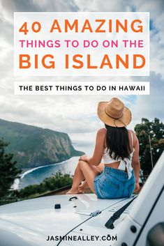 Heres your ultimate Big Island Hawaii list! Ive included 40 things to do on the Big Island of Hawaii to make sure you dont miss a thing. From activities and nature to food and lodging, its all in this Hawaii guide! Whether you want to explore Mauna Kea, check out Hawaiis best beaches, or find the most exciting activities, these 40 are all unforgettable things to do in Hawaii. They made my trip beyond amazing, and will do the same to yours! #travel #hawaii #bigisland #adventure