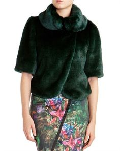 BIONCA - Faux fur jacket Same perfect one by Ted Baker